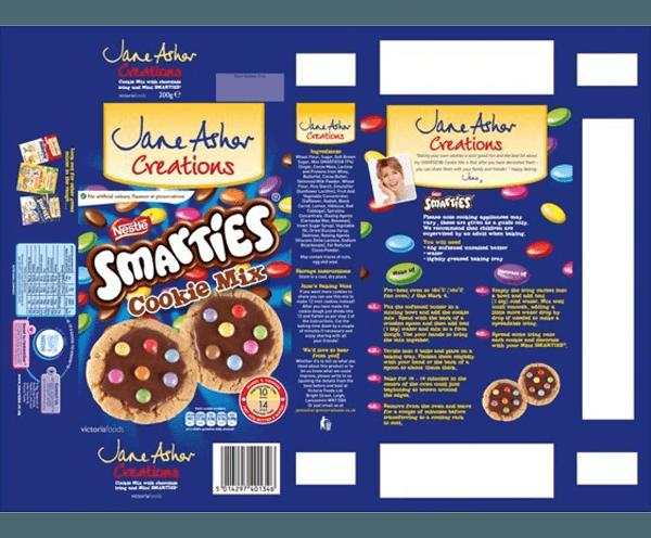Smarties – Collective Creative Design Smarties Box Design