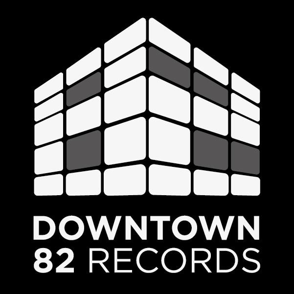 Downtown 82 Records logo design