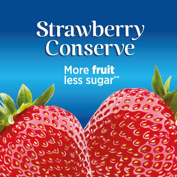 Weight Watchers Strawberry Conserve Packaging for Petty, Wood
