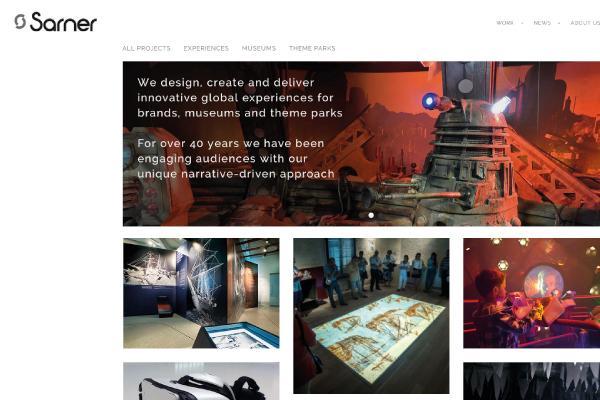 Sarner website redesign