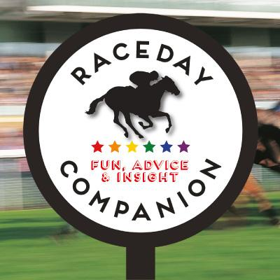 Raceday Companion Logo using racing post and modern font