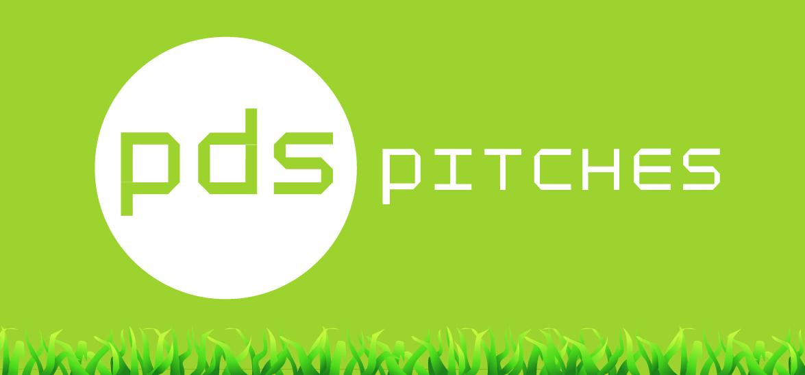 PDS Pitches Grass Logo Design