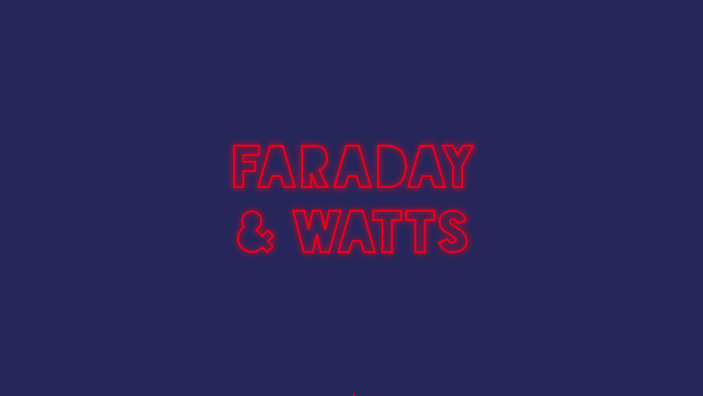 Faraday & Watts logo designs by Collective Creative