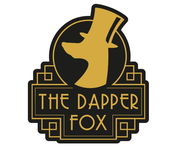 The Dapper Fox logo design
