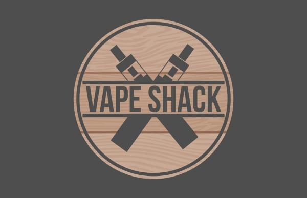 Vape Shack Twickenham logo design